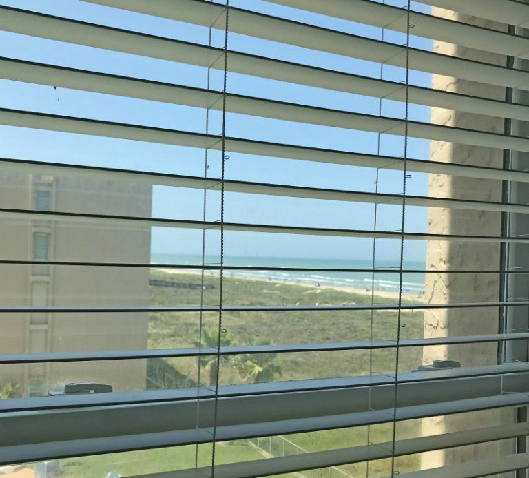 beach view from seconfd bedroom
